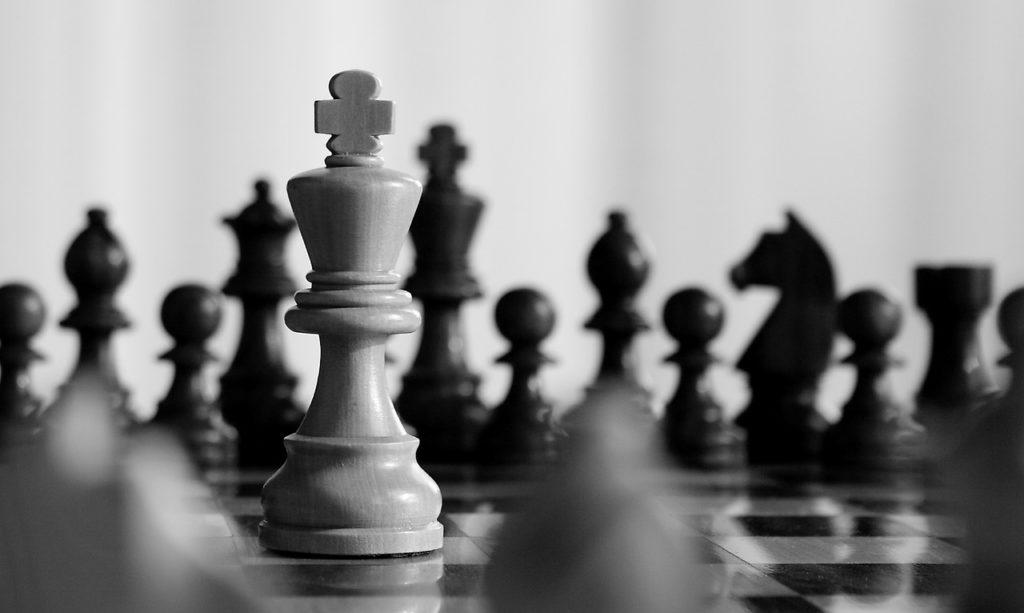 chess, king, match