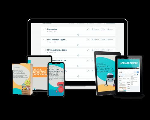 Pack Scala con herramientas digitales
